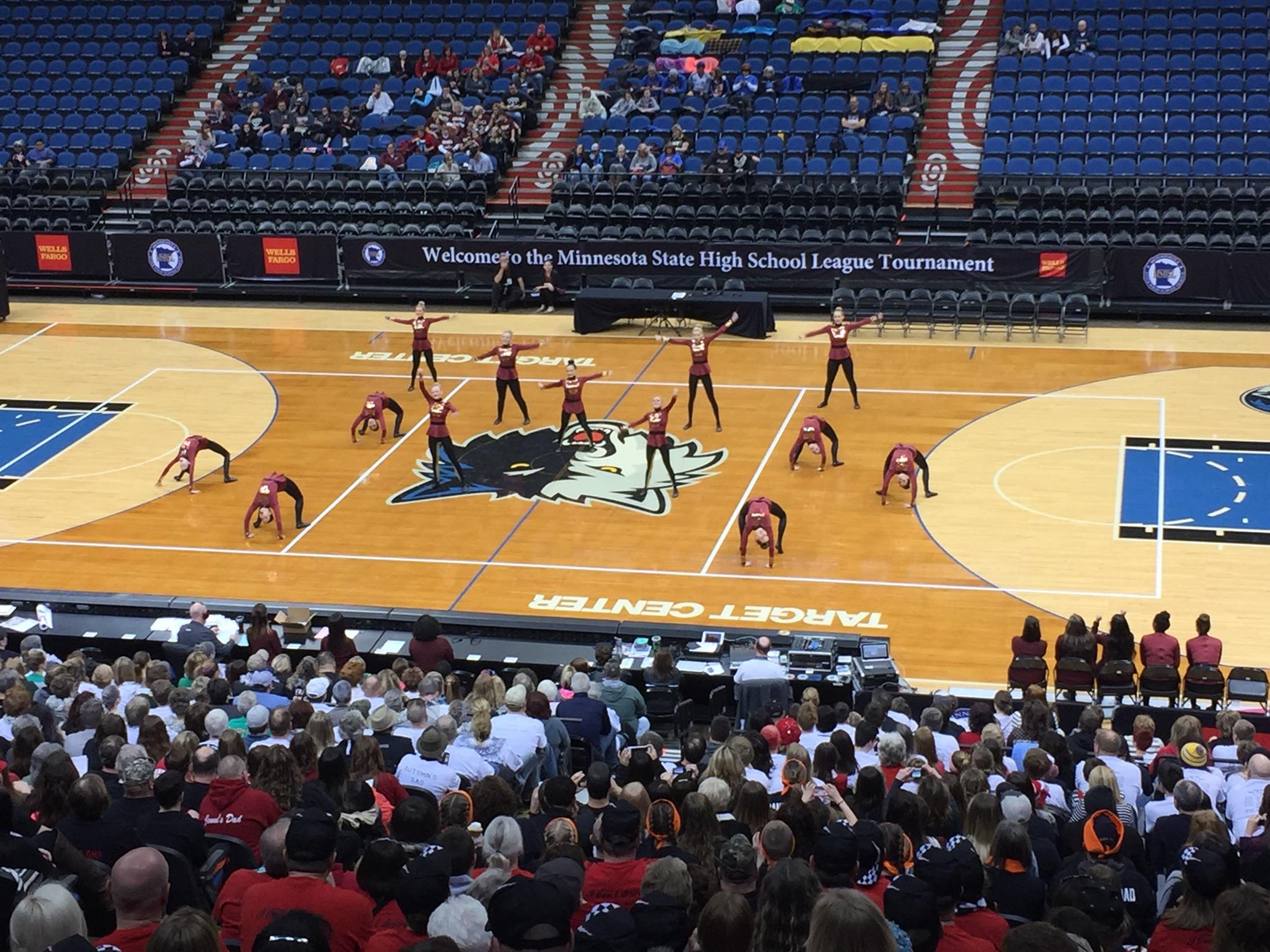 Minnesota High School Dance Team Online » St. Charles